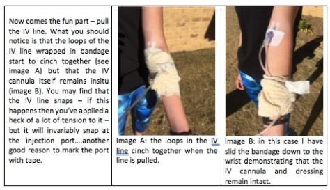 Bandage Pull